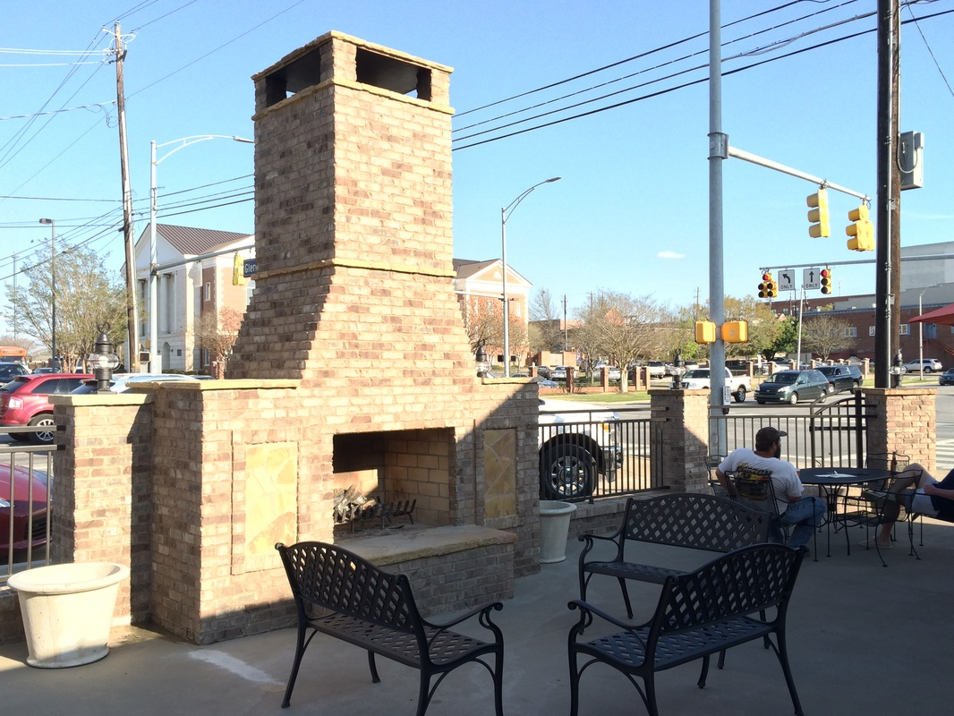 Liveoaks Patio Bar In Auburn Completed By The Backyard