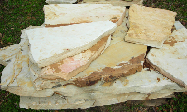 Crab Orchard Flagstone Slabs